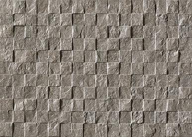 Plytelės Atlas Concorde Block Next Cold Mosaico 3D 31,5x45 cm