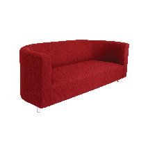 Bay-window-Sofa-red-bespoke-elegant-comfortable-WAWA-London