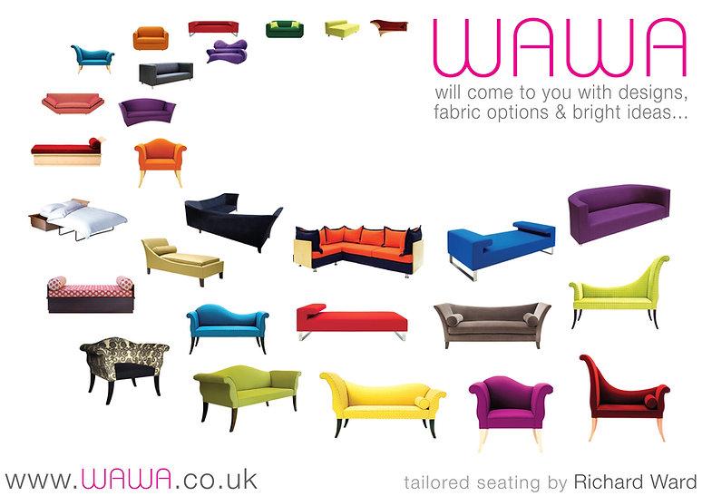 bespoke Contemporary modern flamboyant exciting sofas London