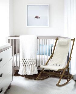 Maternity Rocking Chair Fur Nursery