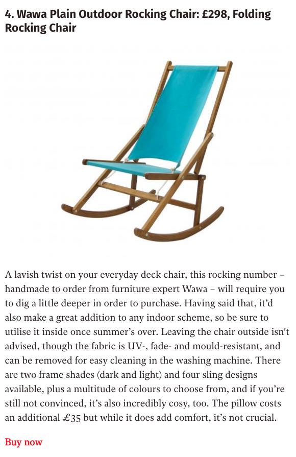 10 Best Deck Chairs