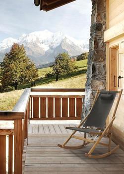 Winter Rocking Chair Fur Alpes