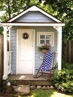 Rocking Deck Chair beautiful garden