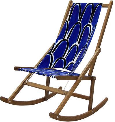 Folding Rocking Deck Chair, Limited Edition By WAWA