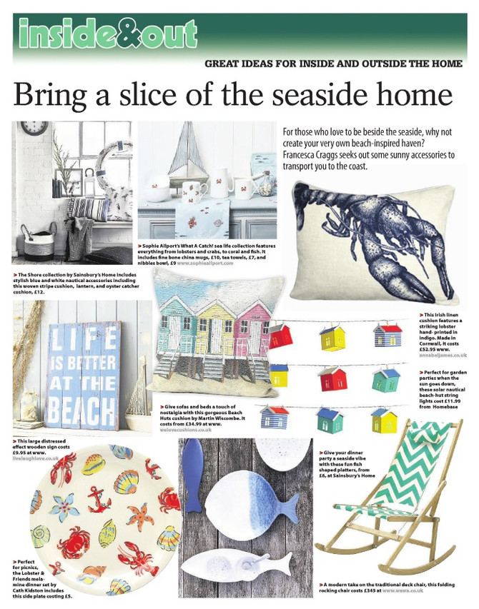 Bring the slice of the seaside home