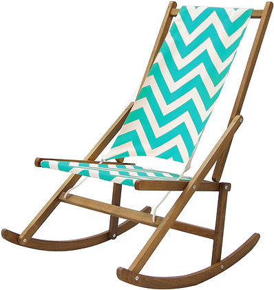 Folding Rocking Deck Chair, Bright Outdoor furniture By WAWA in Point