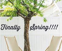 Spring is finally here !!!!
