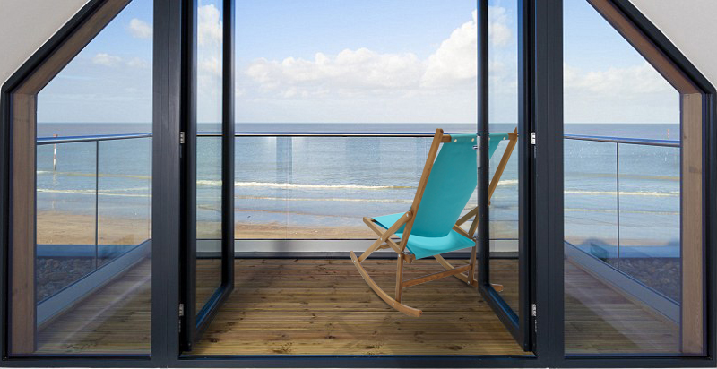 Bright Folding Rocking Chair Balcony