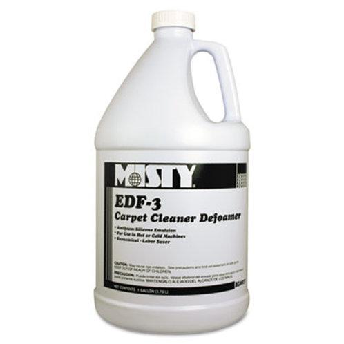 Misty® EDF-3 Carpet Cleaner Defoamer, 1 gal. Bottle, 4/Carton