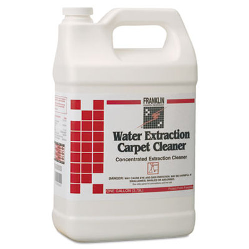 Franklin® Water Extraction Carpet Cleaner, Floral Scent, Liquid, 1 Gal, 4/Ct