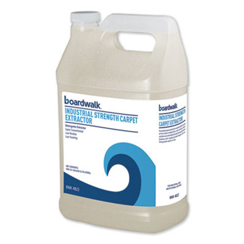 Boardwalk® Industrial Strength Carpet Extractor, Clean Scent, 1 gal Bottle, 4/Ct