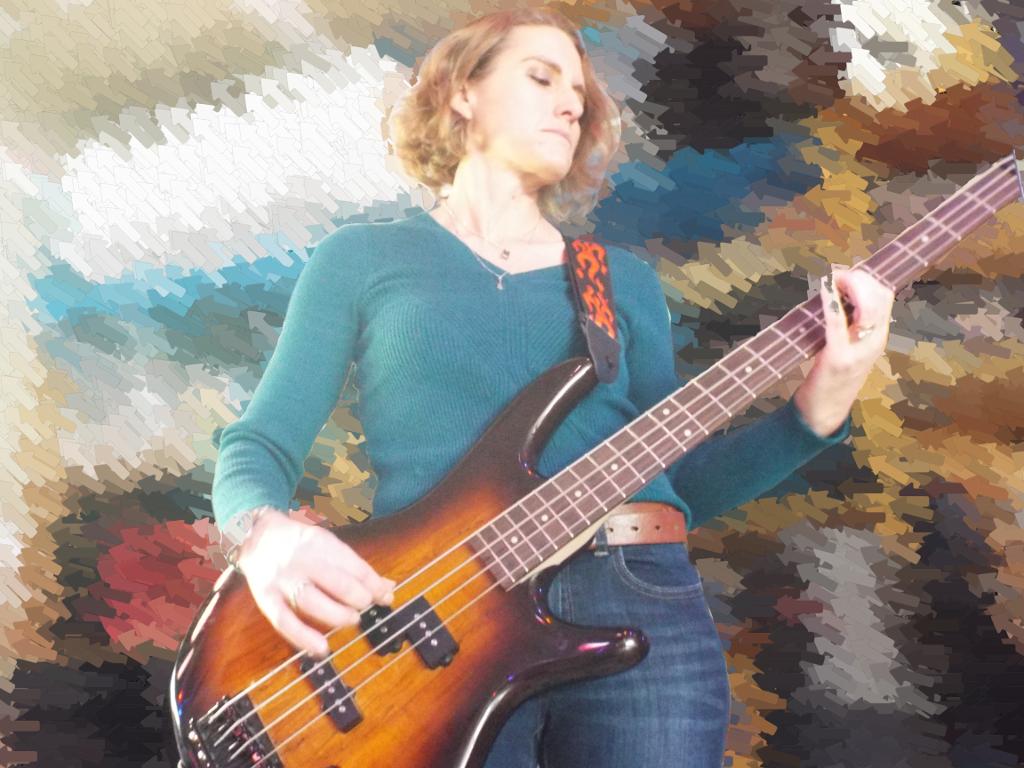 Lauren Daley - Bass Guitar