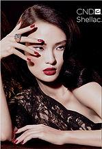 Asian model CND Shellac