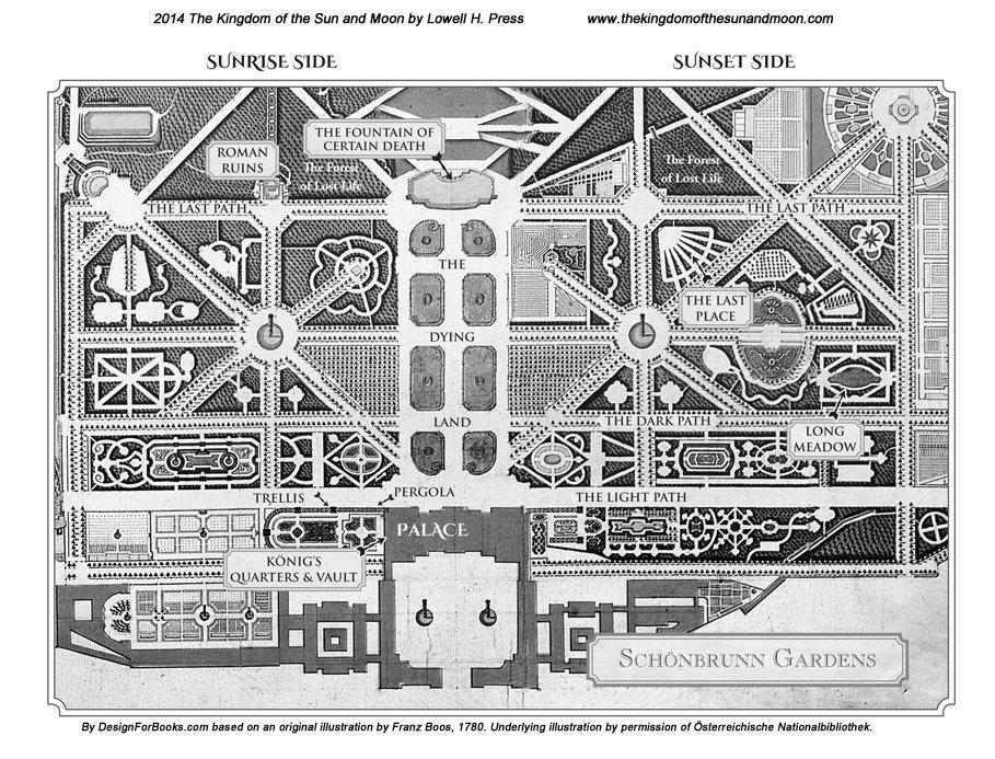 Schönbrunn Map