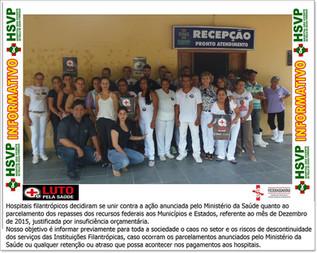 Campanha Luto Pela Saúde.