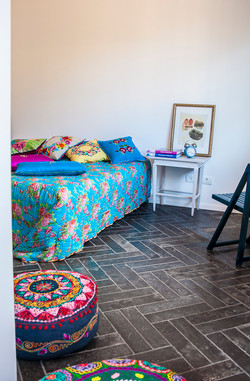 הלבשת חדר - חדר שינה | מרב שדה - תכנון ועיצוב פנים