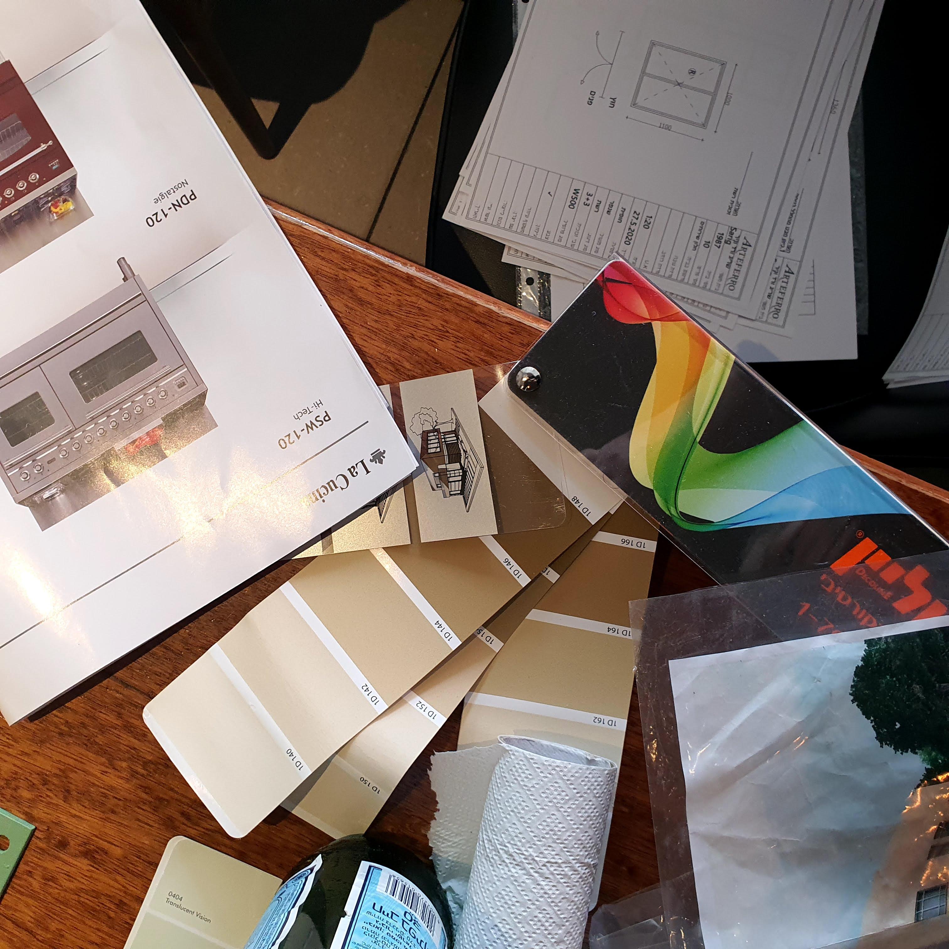 עיצוב פנים בתהליך שיפוץ דירה או שיפוץ בית | מרב שדה - תכנון ועיצוב פנים