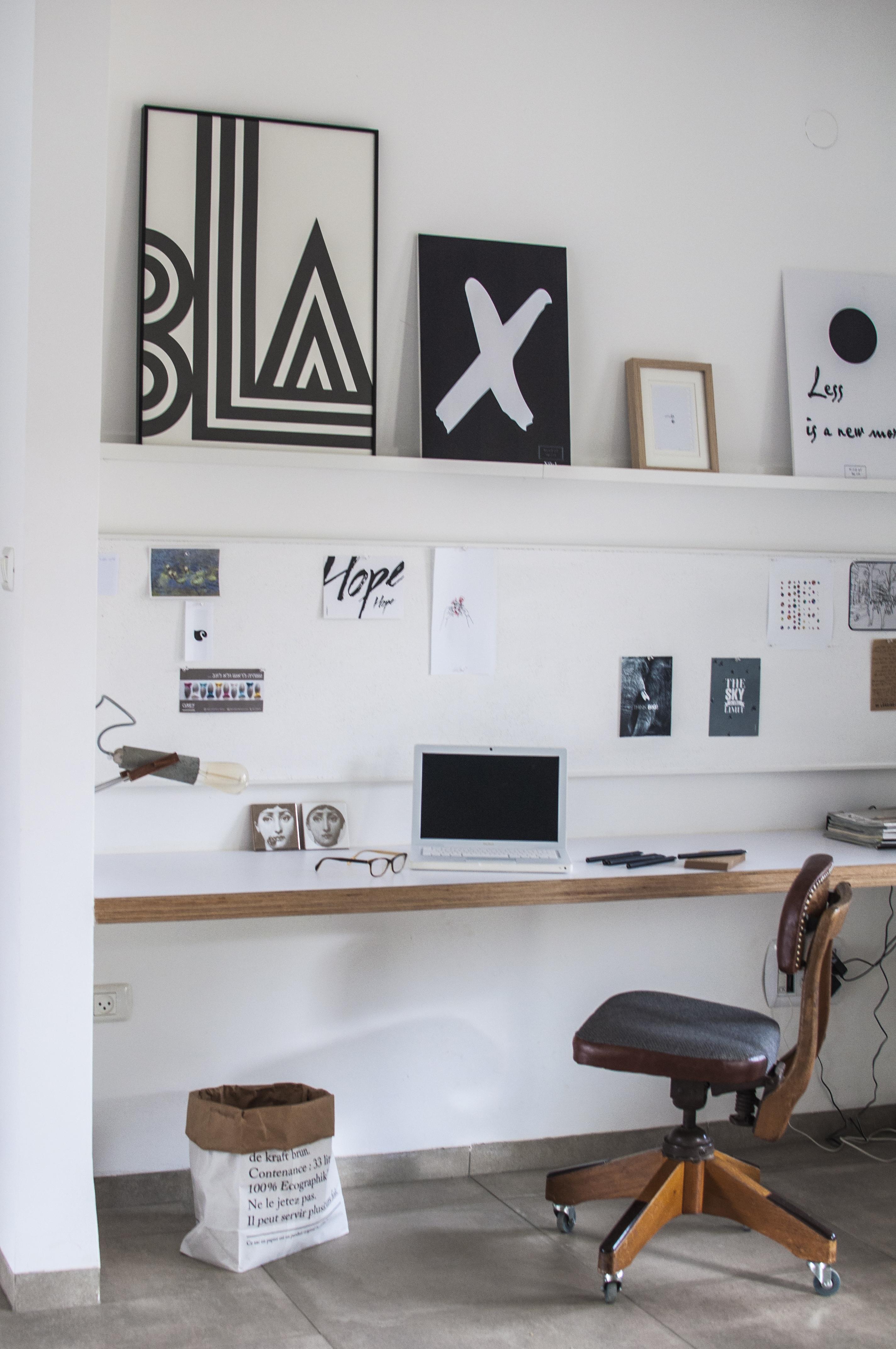 הום סטיילינג משרד ביתי | מרב שדה - תכנון ועיצוב פנים