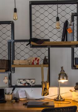 עיצוב הבית הום סטיילינג - חלל עבודה | מרב שדה - תכנון ועיצוב פנים