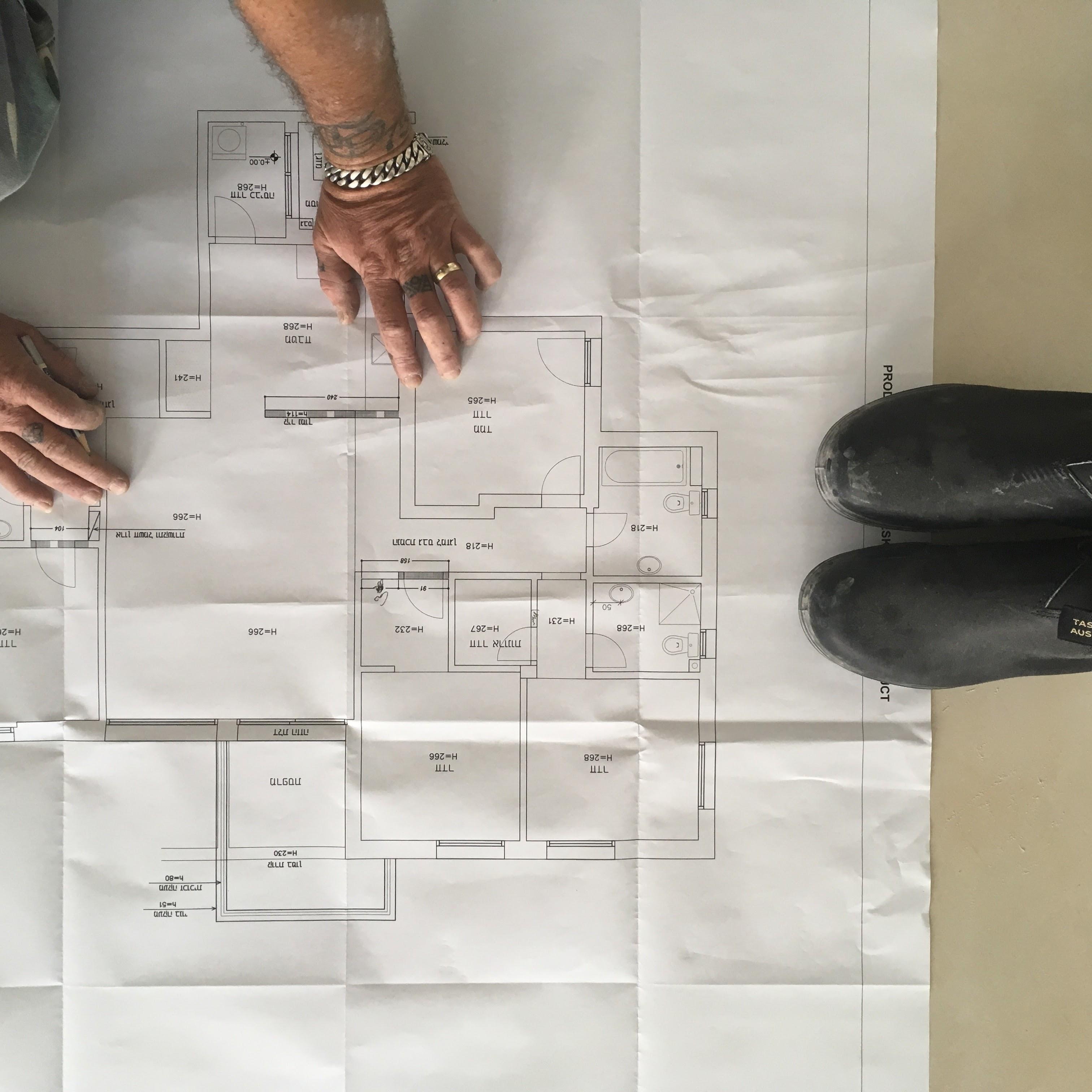תכנון שיפוץ דירה לפי תכניות | מרב שדה - תכנון ועיצוב פנים
