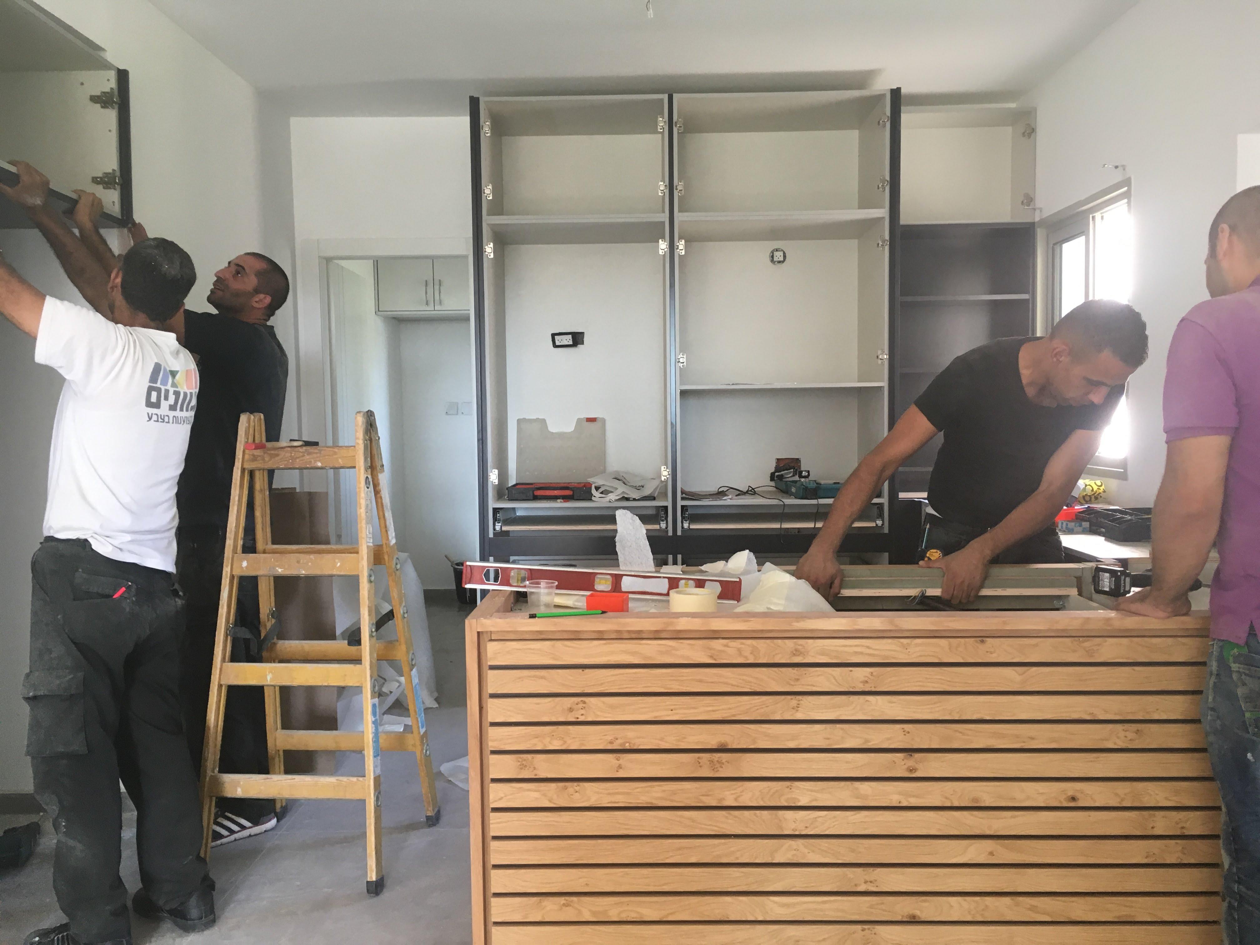 שיפוץ מטבח בתהליך שיפוץ דירה קומפלט | מרב שדה - תכנון ועיצוב פנים