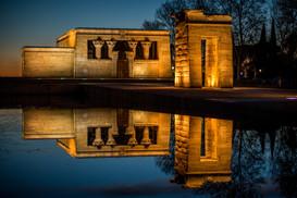 Fotografía Templo Debod