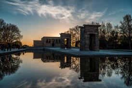 Fotografía Templo de Debod