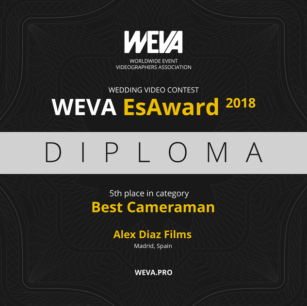 weva awards alex diaz films