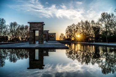 Fotografía Templo Debod, photography