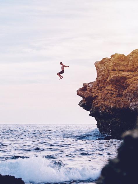 Spring und lerne wie man fliegt