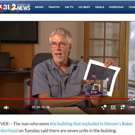 In the News- Denver Gas Explosion