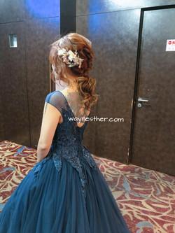 Bridal makeup & hairdo