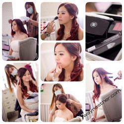 ROM makeup & hairdo