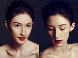 Photo shooting makeup