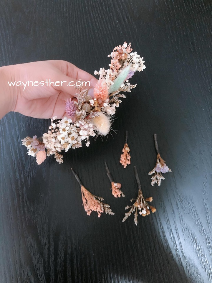 Handmade hair accessories