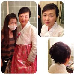 Mother makeup & hairdo - Korean