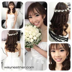 ROM makeup & hairstyling
