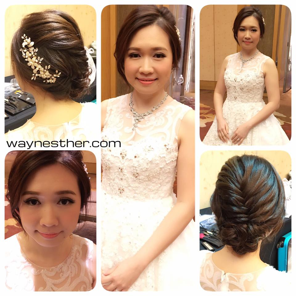 Bridal makeup & hairdo