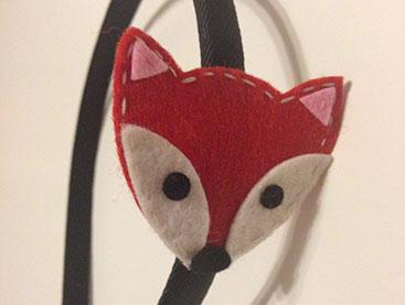 FESTIVE FOX HEADBAND
