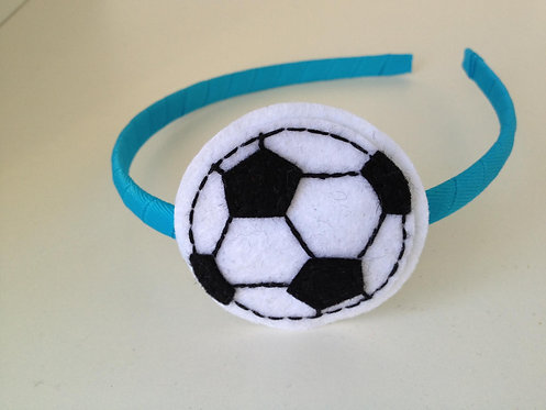 SOCCER BALL HEADBAND
