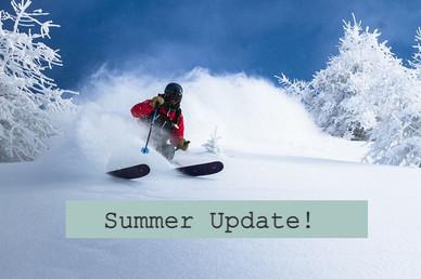 Summer Update!