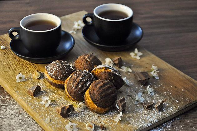 Печиво «Горішки шоколадні зі згущеним молоком»