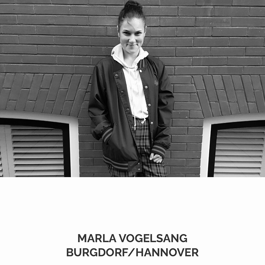 """""""lyrical hip hop"""" mit marla vogelsang"""