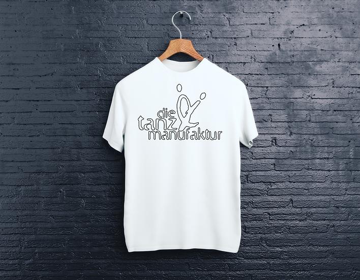 minimal logo t-shirt weiß