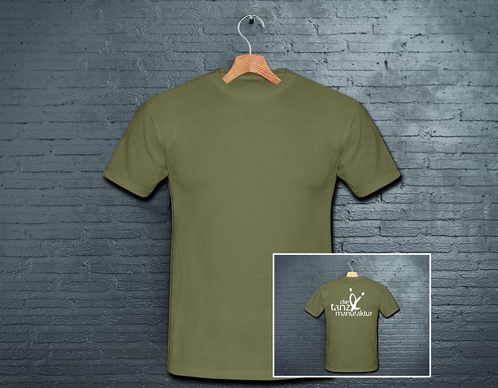 logo t-shirt khaki