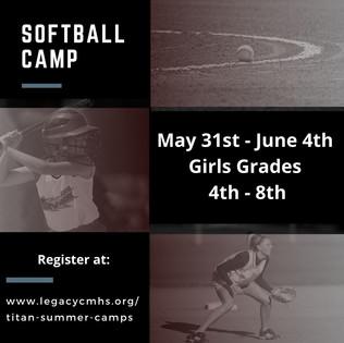 Titan Softball Camp