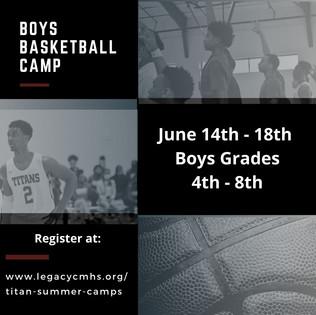 Titan Boys Basketball Camp
