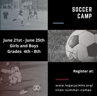 Titan Soccer Camp