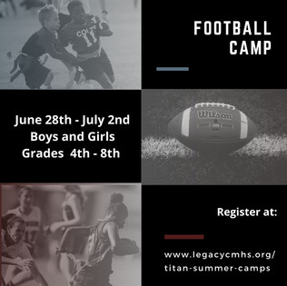 Titan Football Camp