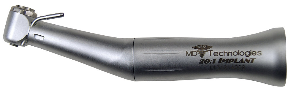 MD Technologies Push Button 20:1 Implant Contra Angle/ with Fiber Optics